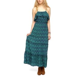 URBAN OUTFITTERS Staring @ Stars Print Maxi Dress
